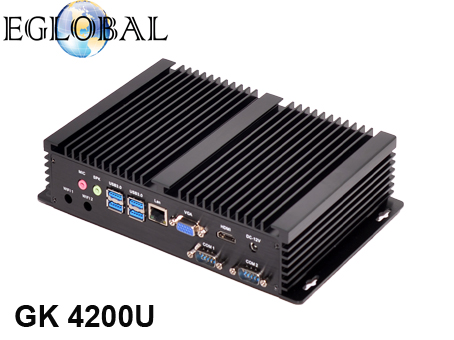Eglobal intel mini pc core i5 4258U fanless mini server small windows computer HD5500