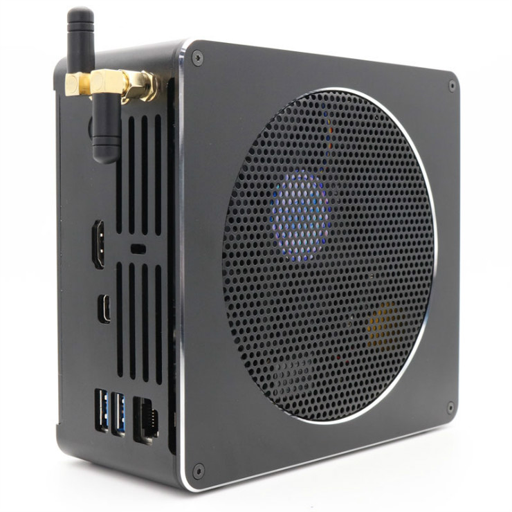 Eglobal Fastest Gaming computer intel core i9 8950HK high performance Mini PC