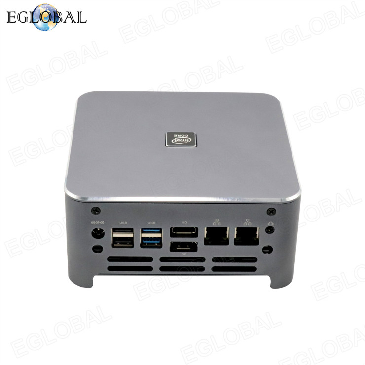 4 cores Mini PC 4K for intel core i5 10300H dual lan max 64G DDR4 powerful desktop gaming pc