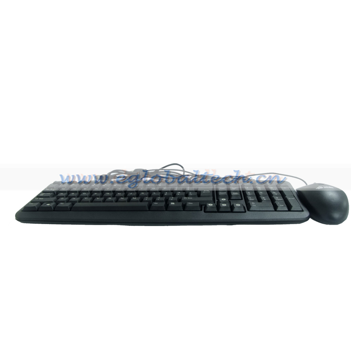 Eglobal Cheap Price USB Port Keyboard & Mouse for Monitor