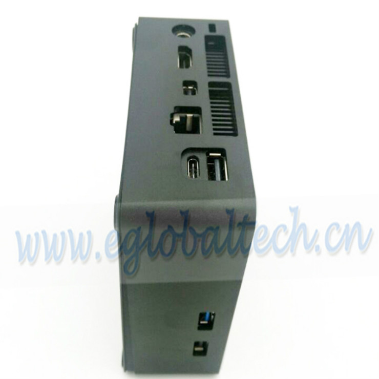 Eglobal new arrival mini computer windows Intel core i7 7500U mini gaming PC