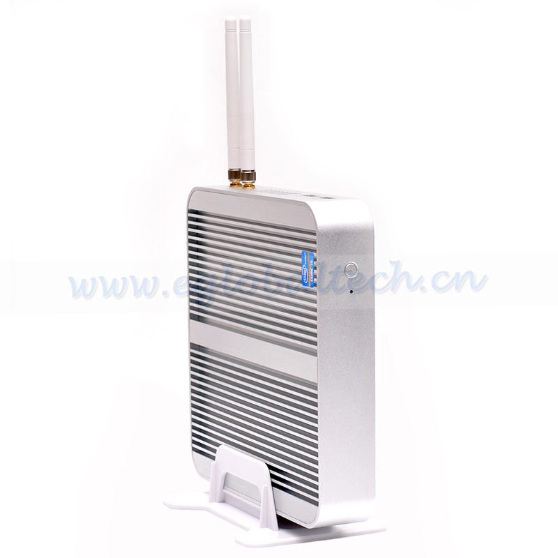 Eglobal ultra thin compact pc intel core i5 7200U HD620 best mini pc for tv