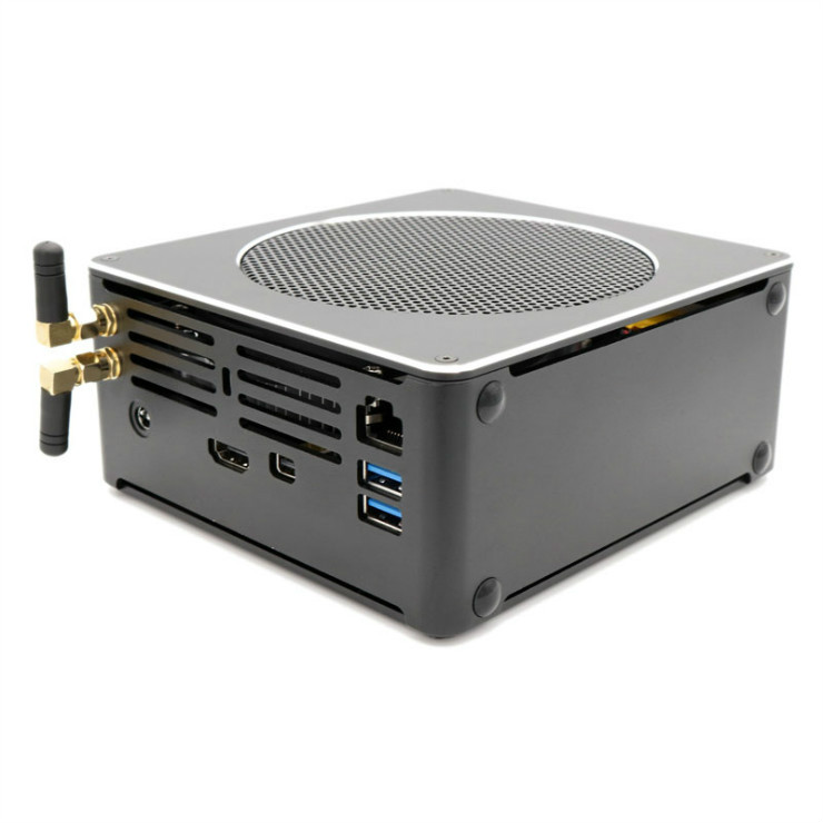 Eglobal Windows mini pc  Intel Xeon E-2176M 2.7GHz Max 4.4GHz fast gaming computer Dual display