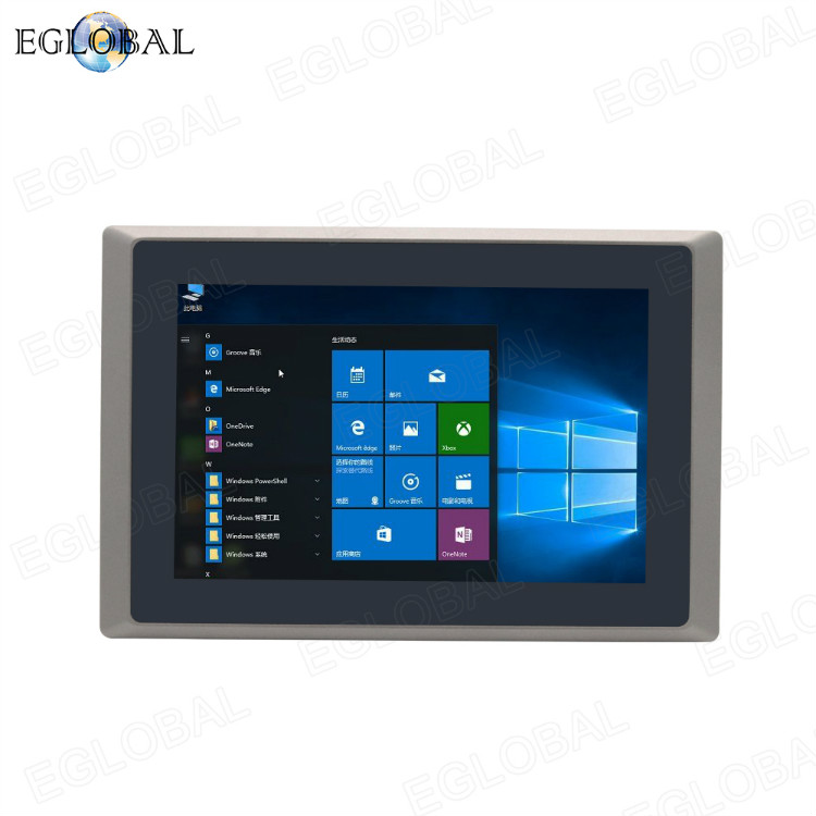 Eglobal New ALL IN ONE industrial PC intel celeron J1900 rich interface 10inch screen computer