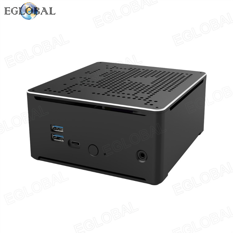 2020 New Launched S210H series gaming mini pc dual lan intel core i9 8950HK small computer 4K DP+HD