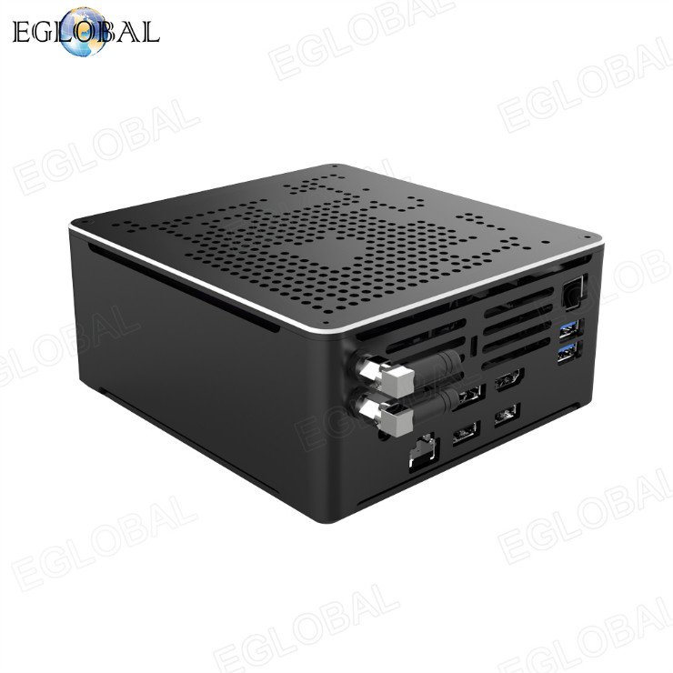 Eglobal highest processor 8 cores 12 threads gaming computer i7 intel 10750U dual lan best mini pc